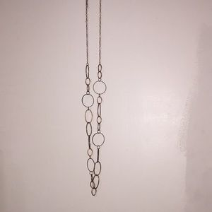 NEW Long Chain Brass Necklace